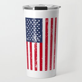 4th Of July Flag Liberty America USA Independence Day Gift Travel Mug