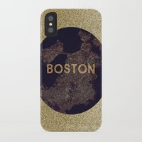 vintage map iPhone & iPod Cases featuring map by go_alexxa_go