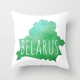 Belarus Throw Pillow