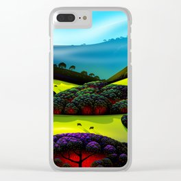 Morning Mist Clear iPhone Case