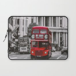 London Classic Bus Laptop Sleeve