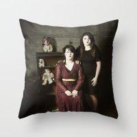 family Throw Pillows featuring Family by Flashbax Twenty Three