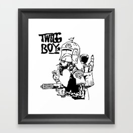 twigg boy (dark colors) Framed Art Print
