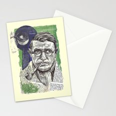 Sartre  - Nothingness Stationery Cards