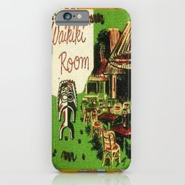 Tiki Art Exotic Waikiki Room iPhone Case