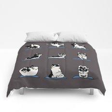 Husky Yoga Comforters