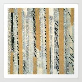 mosmith word collage Art Print