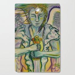 Archangel Michael - Sword Keeper Cutting Board