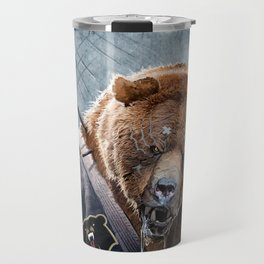 Jiu Jitsu Grizzly Travel Mug