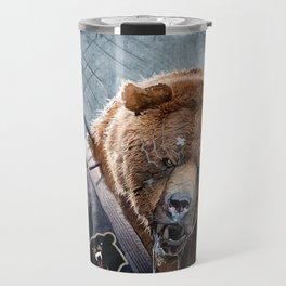Jiu Jitsu Grizzly Travel Mug