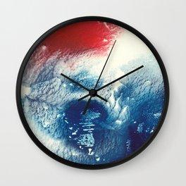 Tsunami Wall Clock