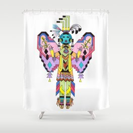 Kachina Butterfy 7 Shower Curtain