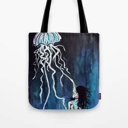fall down, never get back up again Tote Bag