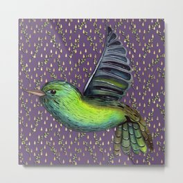 Exotic flight of fancy Metal Print