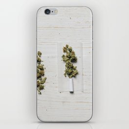 Evolution of weed iPhone Skin
