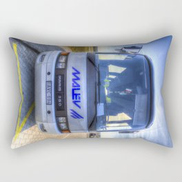 Malev Airlines Bus Rectangular Pillow