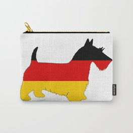 German Flag - Scottish terrier Carry-All Pouch