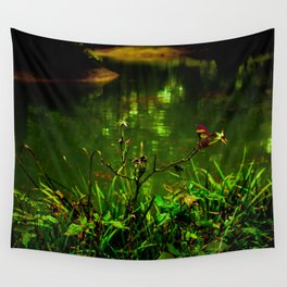 Absinthe Glow Wall Tapestry