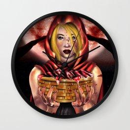Red Ridding Hood Wall Clock