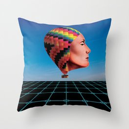The Woman Throw Pillow