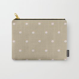 Here Kitty Kitty {sand} Carry-All Pouch