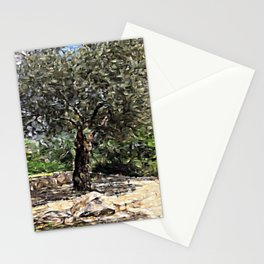 Tree of Geometry Stationery Cards