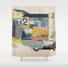 Car is over Shower Curtain
