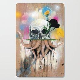 Skull Roots Cutting Board