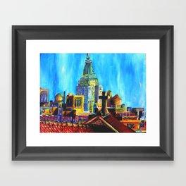 The City Never Dies Framed Art Print