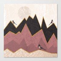 velvet underground Canvas Prints featuring Velvet by Kakel