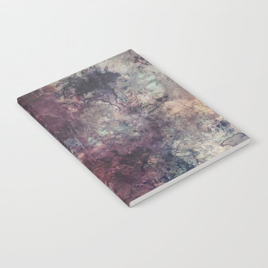 acrylic grunge Notebook