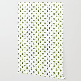 Avocado Hearts (white background) Wallpaper