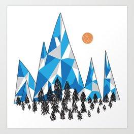 Mountain Kingdom Art Print