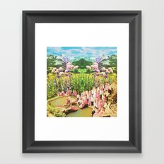 Pink of love  Framed Art Print
