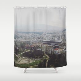 Ancient Modernity Shower Curtain