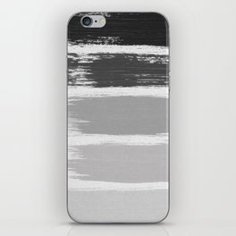 Black & White Stripes iPhone Skin