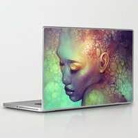 camouflage Laptop & iPad Skins featuring Camouflage by Anna Dittmann