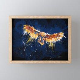 Night Owl v2 Framed Mini Art Print