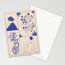 Le monde flottant  Stationery Cards
