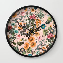 EXOTIC GARDEN XVIII Wall Clock