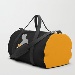 Duck Hunt Gaming Quote Duffle Bag
