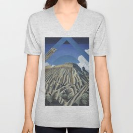 Mount Garfield Polyscape Unisex V-Neck