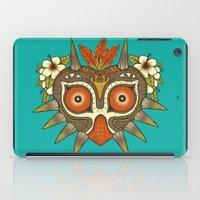 majora iPad Cases featuring Tiki Majora by Paula García