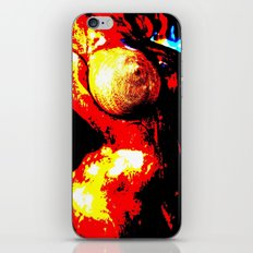 Pop Art Nude Torso iPhone & iPod Skin