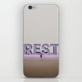 rest. iPhone Skin