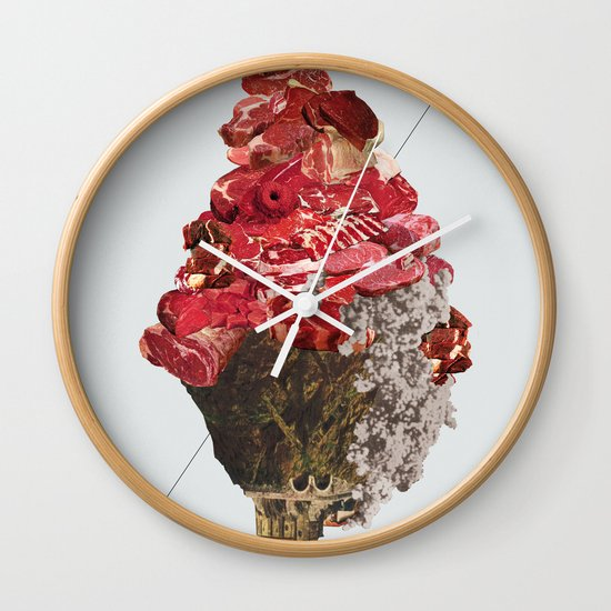 Solid things 6 Wall Clock