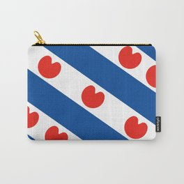Frisian Friesland region netherlands country flag Dutch province Carry-All Pouch