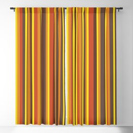 That 70's Look Seventies Abstract Lines Blackout Curtain