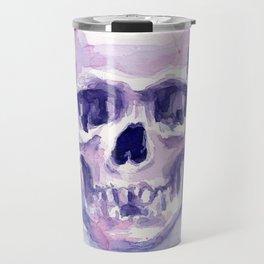 Skull Watercolor Skulls Travel Mug