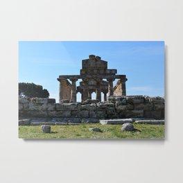 templi di paestum Metal Print